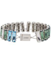 Jacquemus Blue Le Bracelet Estello Bracelet