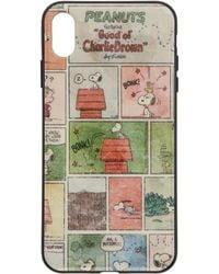 Marc Jacobs Peanuts Edition マルチカラー Comic Strip Iphone Xs Max ケース