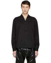 Sasquatchfabrix - Black Wool Shirt - Lyst