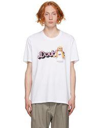 Doublet ホワイト Doll ロゴ T シャツ