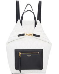 Givenchy ホワイト スモール デュオ バックパック