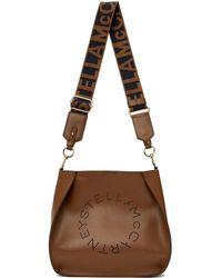 Stella McCartney ロゴ バケット バッグ - ブラウン