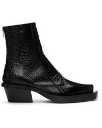 1017 ALYX 9SM ブラック トード Leone ブーツ