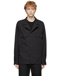 Engineered Garments ブラック Mc シャツ
