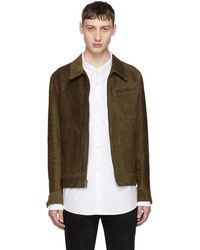 Schott Nyc - Brown Suede Duke Jacket - Lyst