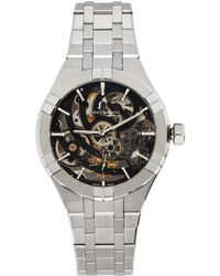 Maurice Lacroix シルバー Aikon Automatic Skeleton 腕時計 - メタリック