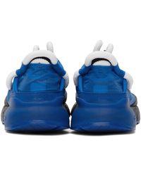 Craig Green Baskets ZX 2K Phormar bleues édition adidas Originals