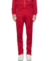 Maison Margiela - Pantalon de survetement rouge - Lyst