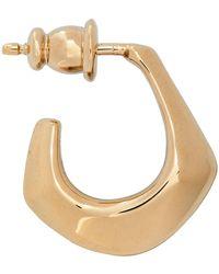 Lemaire Gold Mini Drop Single Earring - Multicolour