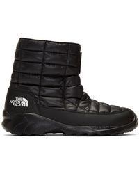 The North Face ブラック サーモボール 7se ブーツ