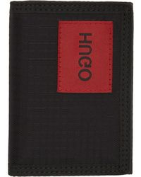 HUGO - ブラック Kombinat ウォレット - Lyst