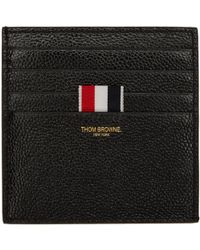 Thom Browne | Black Double-sided Card Holder | Lyst