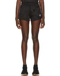 Alexander Wang - Black Track Shorts - Lyst