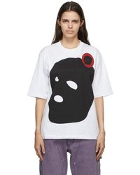 Youths in Balaclava Graphic T-shirt - White