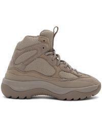 Yeezy Grey Desert Boot