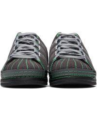 Craig Green Black & Green Adidas Edition Superstar Sneakers - Multicolour