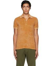 Tom Ford オレンジ ポロシャツ - マルチカラー