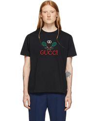 Gucci - Black Tennis T-shirt - Lyst