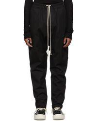 Rick Owens - Black Leather Intarsia Jacket - Lyst