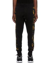 Versace Jeans Couture ブラック Regalia Baroque スウェットパンツ