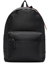 HUGO - Black Victorian Backpack - Lyst
