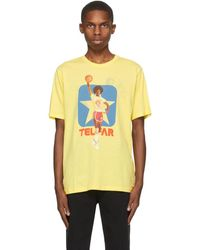 Telfar T-shirt reversible jaune LZ edition Converse