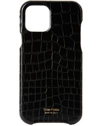 Tom Ford Black Croc Iphone 12 Pro Case