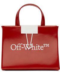 Off-White c/o Virgil Abloh Red Baby Box Bag