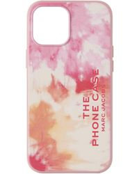 Marc Jacobs ピンク The Phone Iphone 12 Pro Max ケース