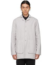 Toogood Grey Photographer Jacket - Multicolour