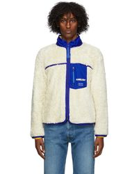 Ambush オフホワイト Eco-fur ジャケット