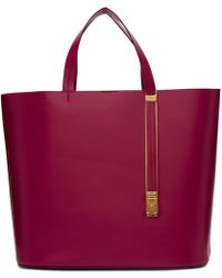 Sophie Hulme - Red East West Exchange Tote - Lyst
