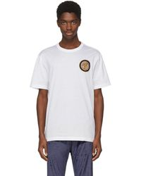 Versace - White Greek Lady T-shirt - Lyst