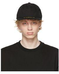 we11done - ブラック ロゴ キャップ - Lyst