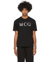 McQ ブラック Mcq Swallow ロゴ T シャツ