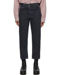 6397 baggy Short Jeans - Blue