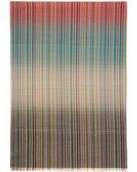 Paul Smith - Foulard multicolore Graded Multistripe - Lyst