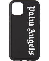Palm Angels - ブラック ステンシル ロゴ Iphone 11 Pro ケース - Lyst