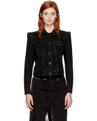 Unravel - Black Denim Classic Jacket - Lyst