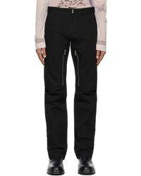 Givenchy Jean noir à glissières