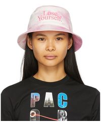 Paco Rabanne Pink Peter Saville Edition Lose Yourself Bucket Hat - Multicolour