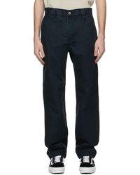 Ksubi Black Decoy Trousers