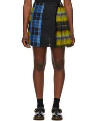 Le Kilt Multicolour Wool Pleated Kilt