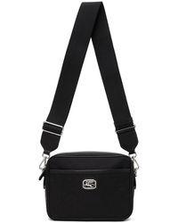 Etro Black Paisley Pegaso Crossbody Bag
