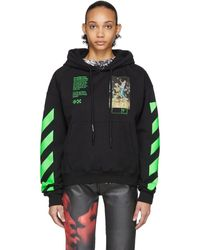 Off-White c/o Virgil Abloh Black Pascal Painting Hoodie