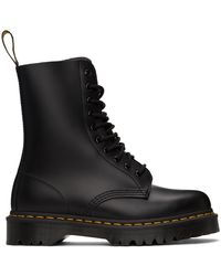 Dr. Martens 1460 Pascal Virginia Boots - ブラック