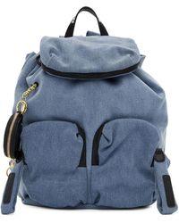 See By Chloé Blue Denim Joy Rider Backpack