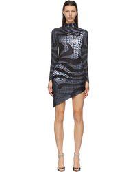 Maisie Wilen - グレー Orbit City ドレス - Lyst