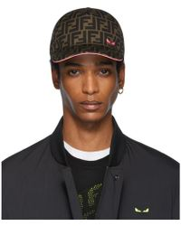 Fendi Brown And Pink Forever Cap