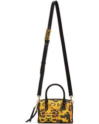 Versace Jeans Couture - ブラック Baroque トップ ハンドル バッグ - Lyst